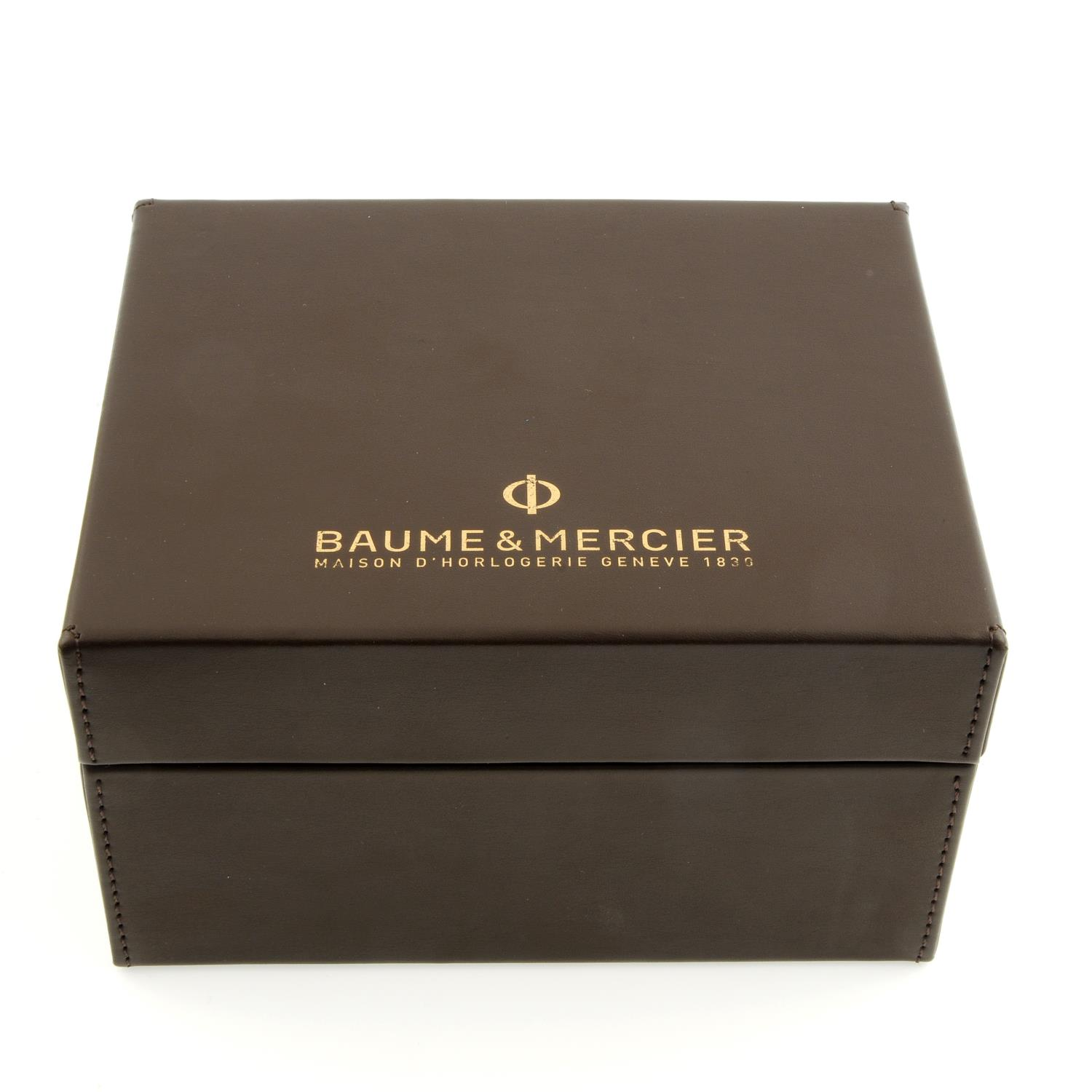 BAUME & MERCIER - a stainless steel Classima wrist watch. - Image 4 of 6