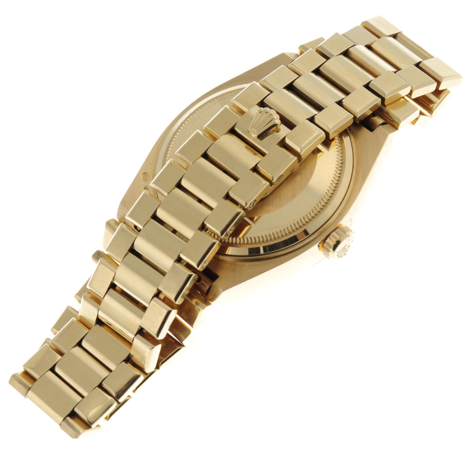 ROLEX - an Oysterquartz Day-Date bracelet watch. - Image 4 of 5