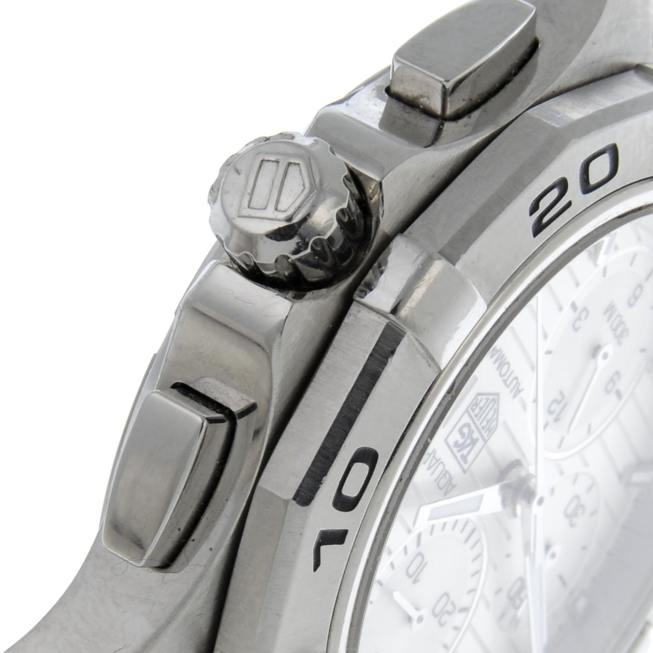 TAG HEUER - an Aquaracerchronograph bracelet watch. - Image 4 of 5