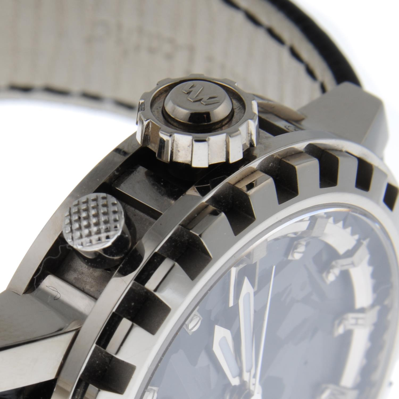 DE WITT - a Academia Silicium 'Hora Mundi' Multi Time Zone wrist watch. - Image 5 of 6