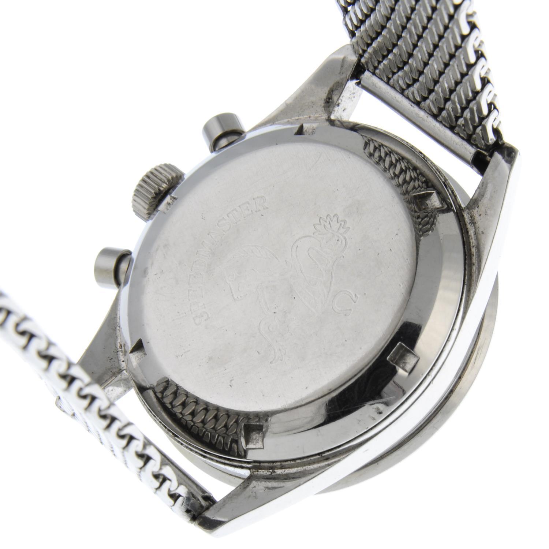 OMEGA - a Speedmaster 'Ed White' chronograph bracelet watch. - Image 5 of 5