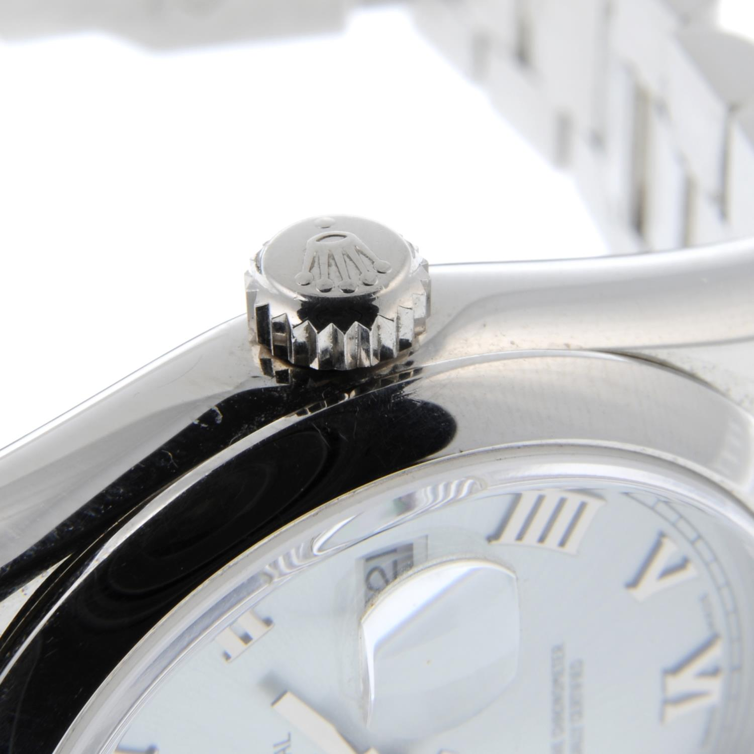 ROLEX - an Oyster Perpetual Day-Date bracelet watch. - Image 5 of 5