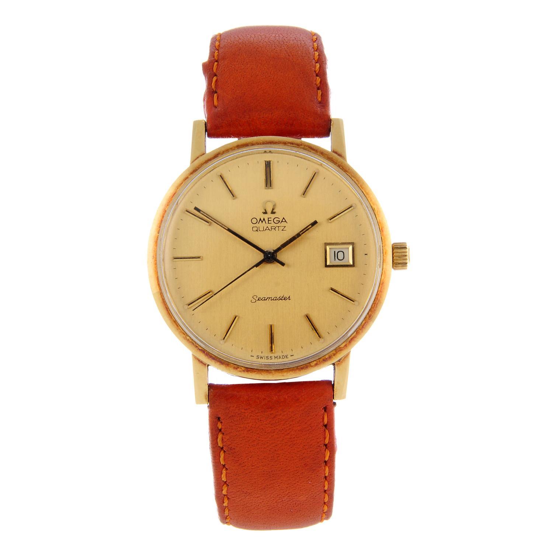 OMEGA - a Seamaster wrist watch.