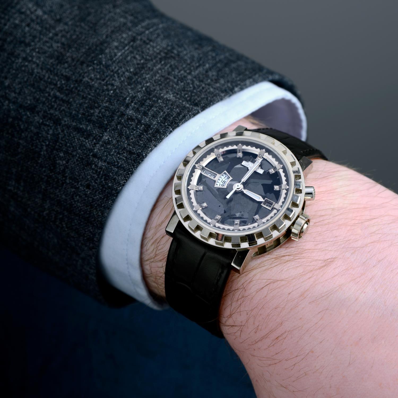 DE WITT - a Academia Silicium 'Hora Mundi' Multi Time Zone wrist watch. - Image 3 of 6