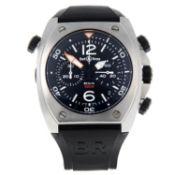 BELL & ROSS - a BR02-94chronograph wrist watch.