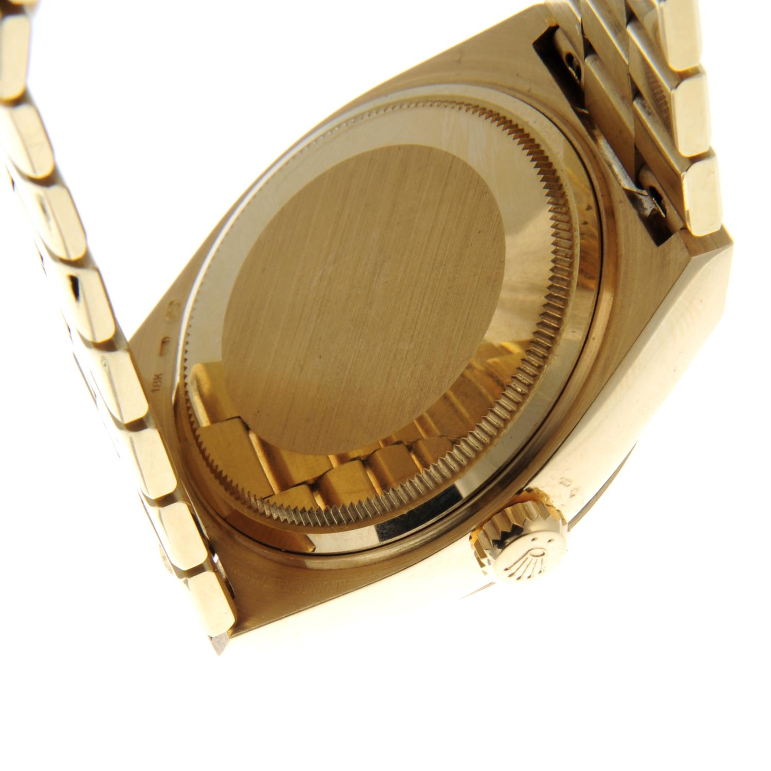 ROLEX - an Oysterquartz Day-Date bracelet watch. - Image 2 of 5