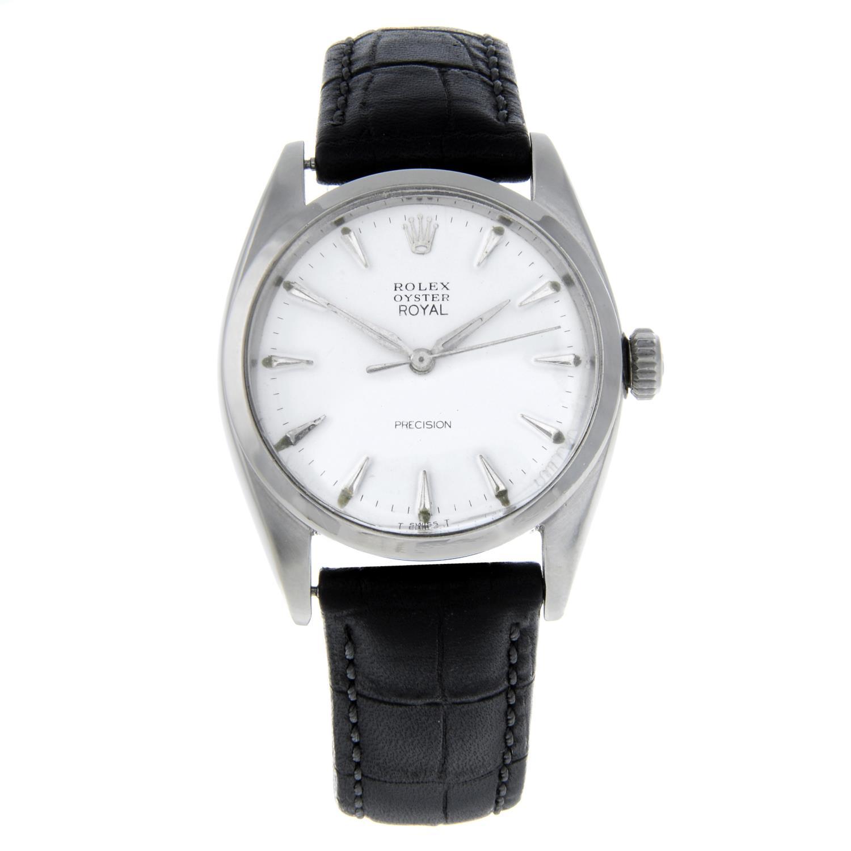 ROLEX - an Oyster Precision wrist watch.