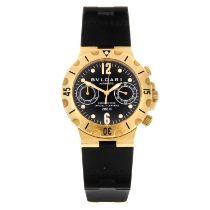 BULGARI - a Diagono Scuba chronograph wrist watch.