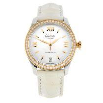 GLASHÜTTE ORIGINAL - a Serenade wrist watch.