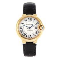 CARTIER - a Ballon Bleu wrist watch.