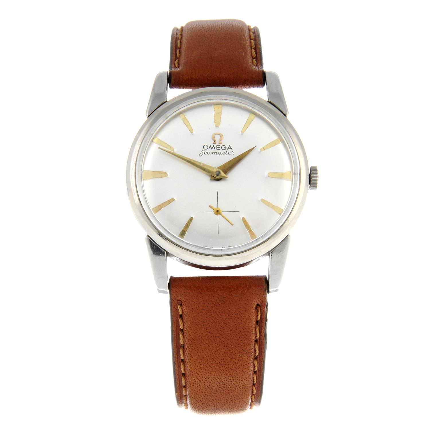 OMEGA - a Seamaster wrist watch.Stainless steel case.