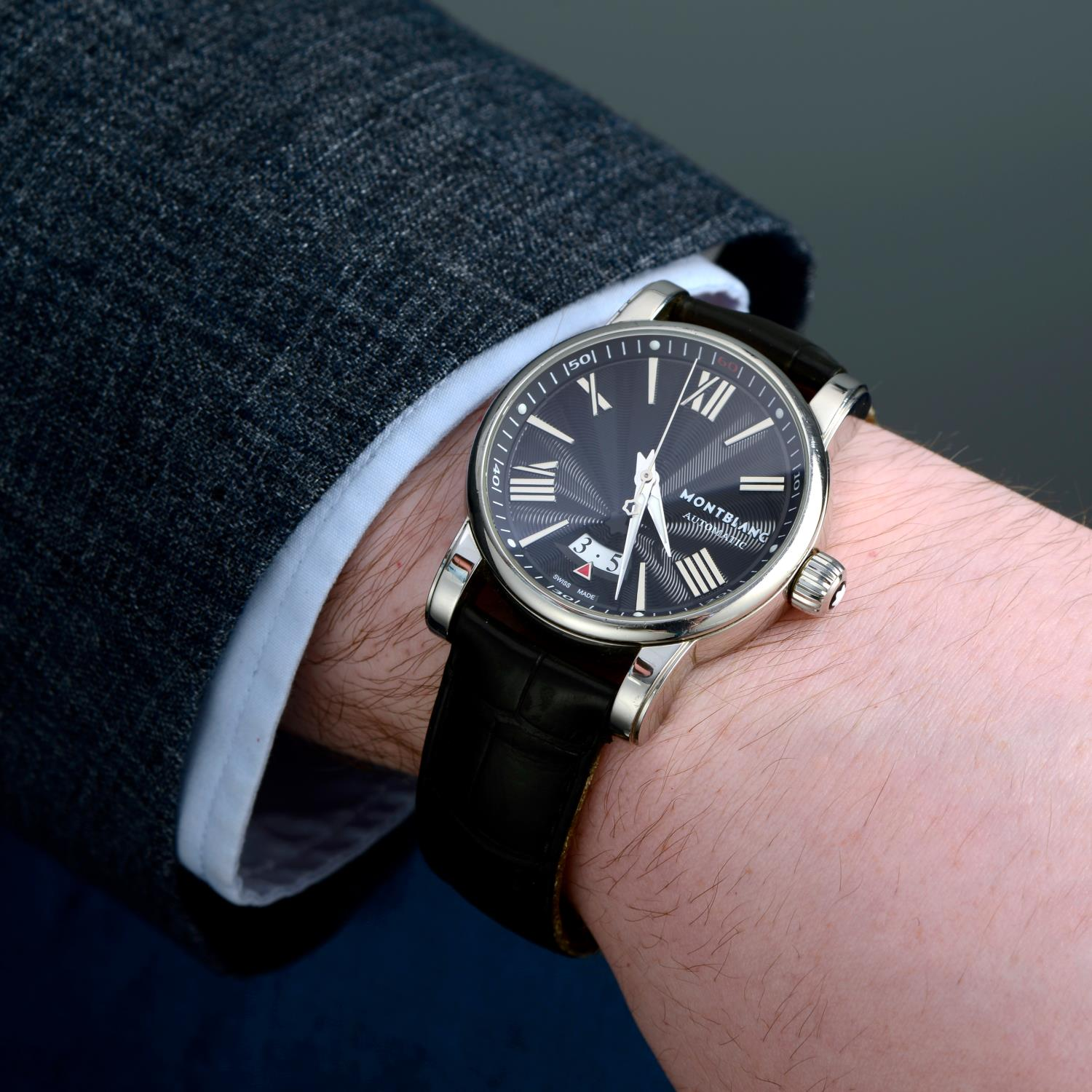 MONTBLANC - a Star wrist watch. - Image 3 of 5