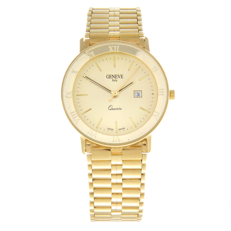 GENEVE - a bracelet watch.