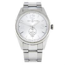 BELL & ROSS - a Vintage braceletwatch.