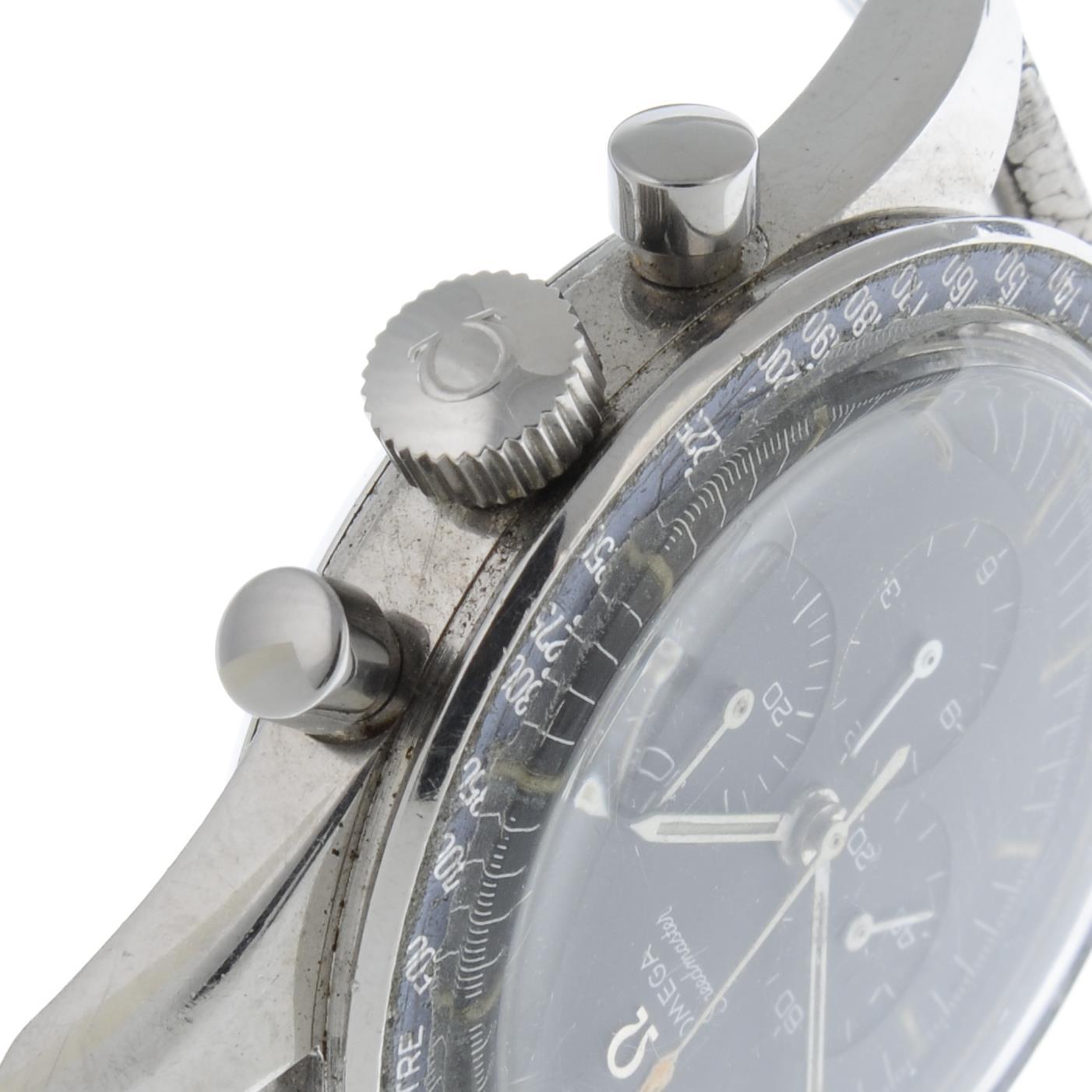 OMEGA - a Speedmaster 'Ed White' chronograph bracelet watch. - Image 4 of 5