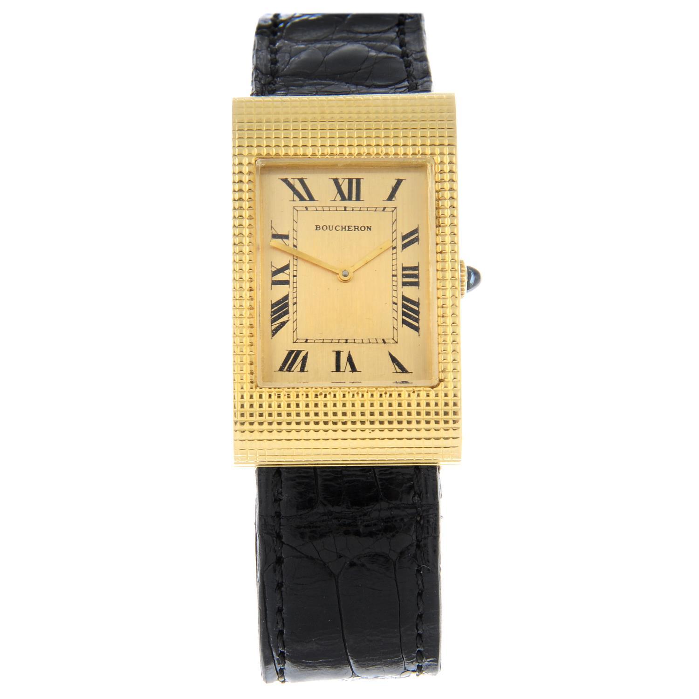 BOUCHERON - a Reflet wrist watch.