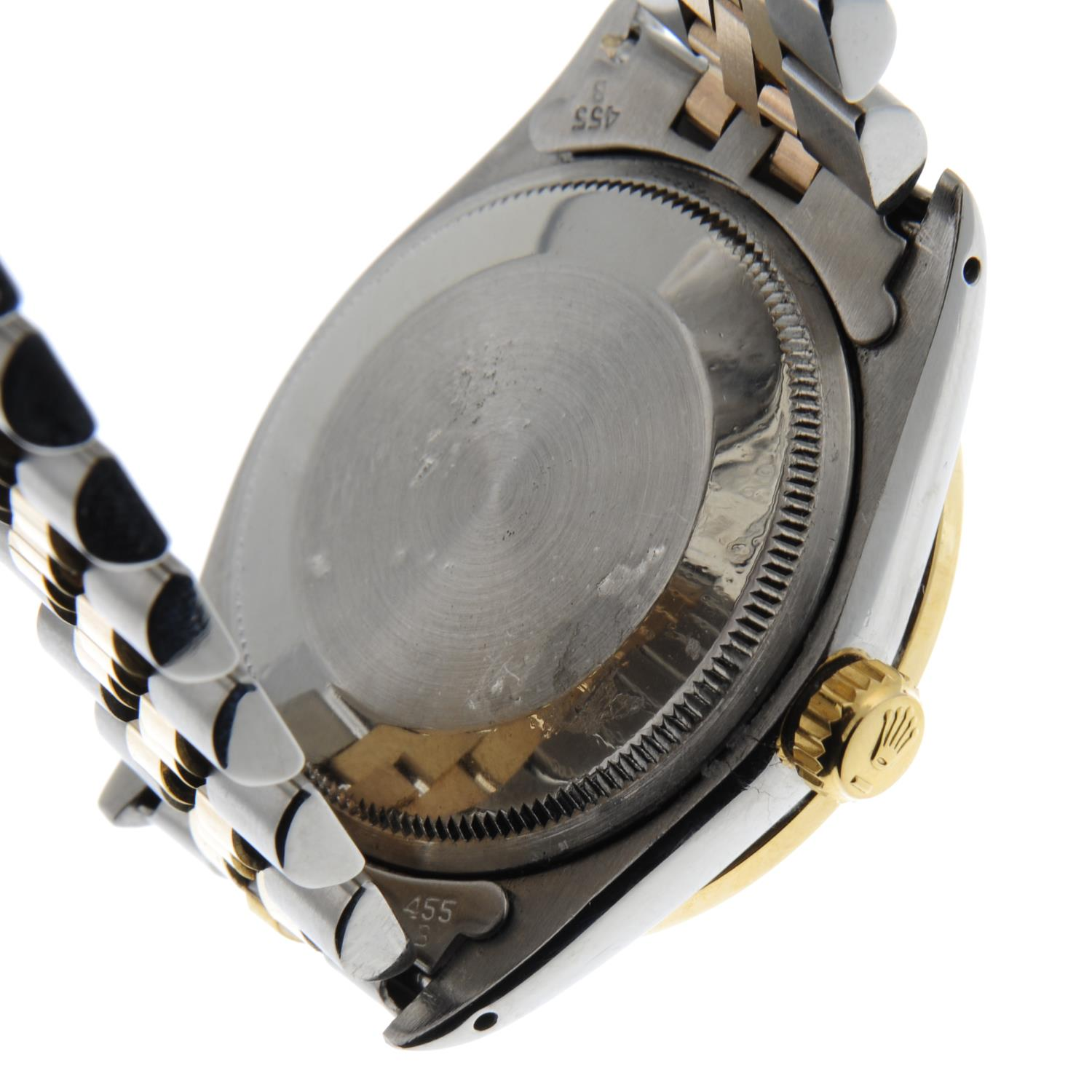 ROLEX - an Oyster Perpetual Date bracelet watch. - Image 2 of 5