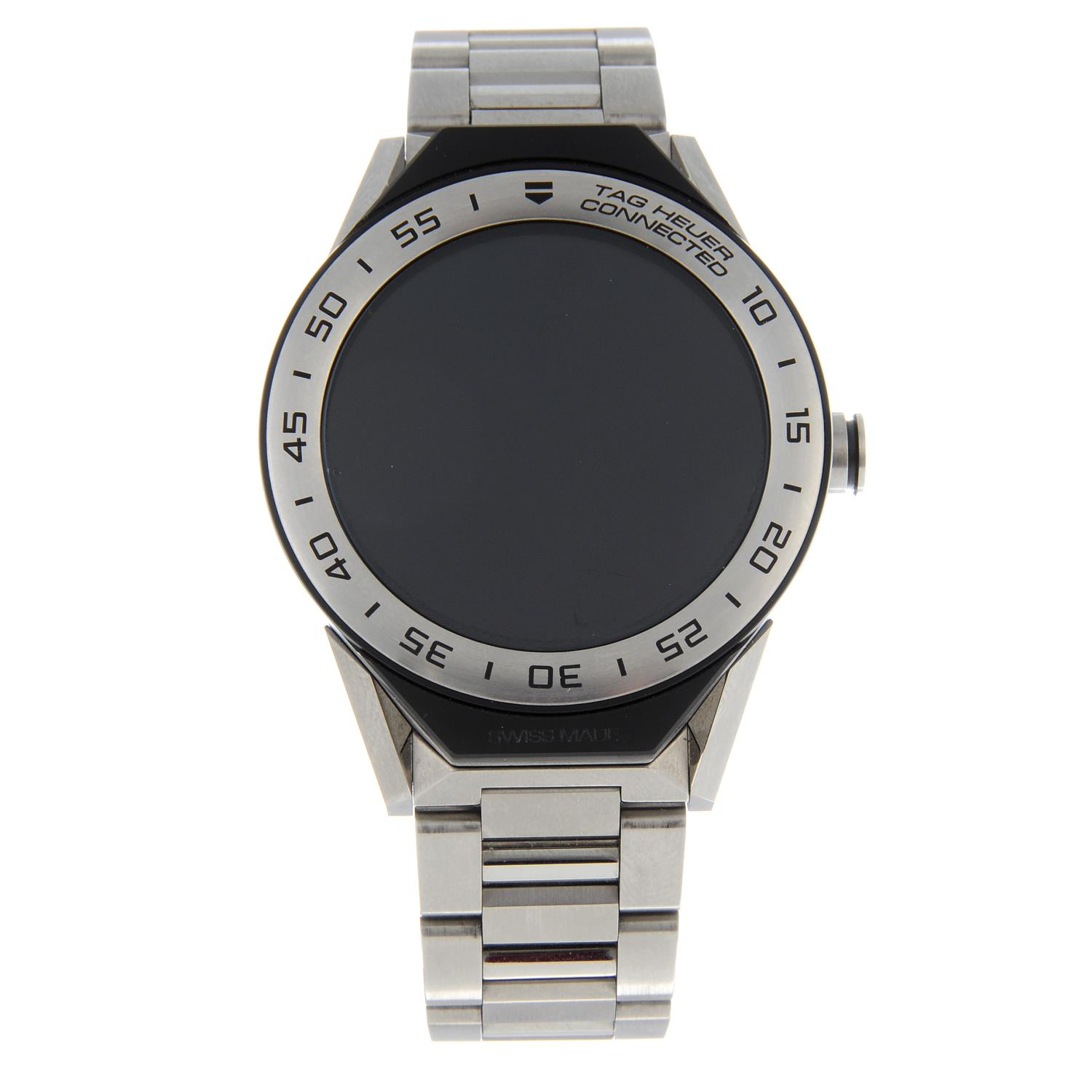 TAG HEUER - a Connected bracelet watch.