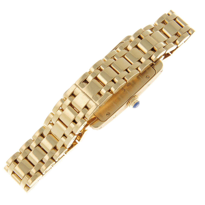 CARTIER - a Tank Americaine bracelet watch. - Image 2 of 5