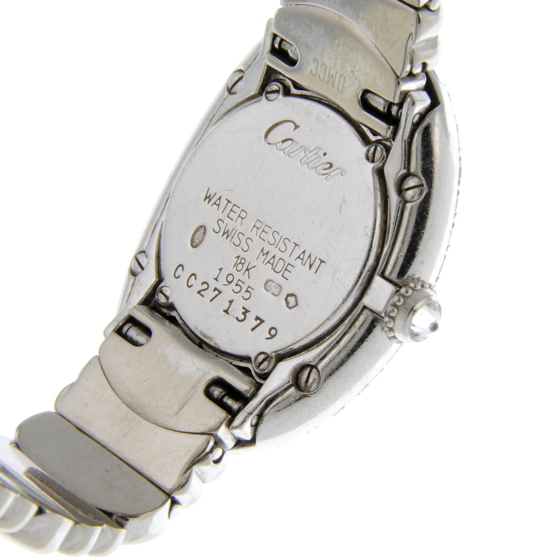 CARTIER - a Baignoire Joaillerie bracelet watch. - Image 5 of 5