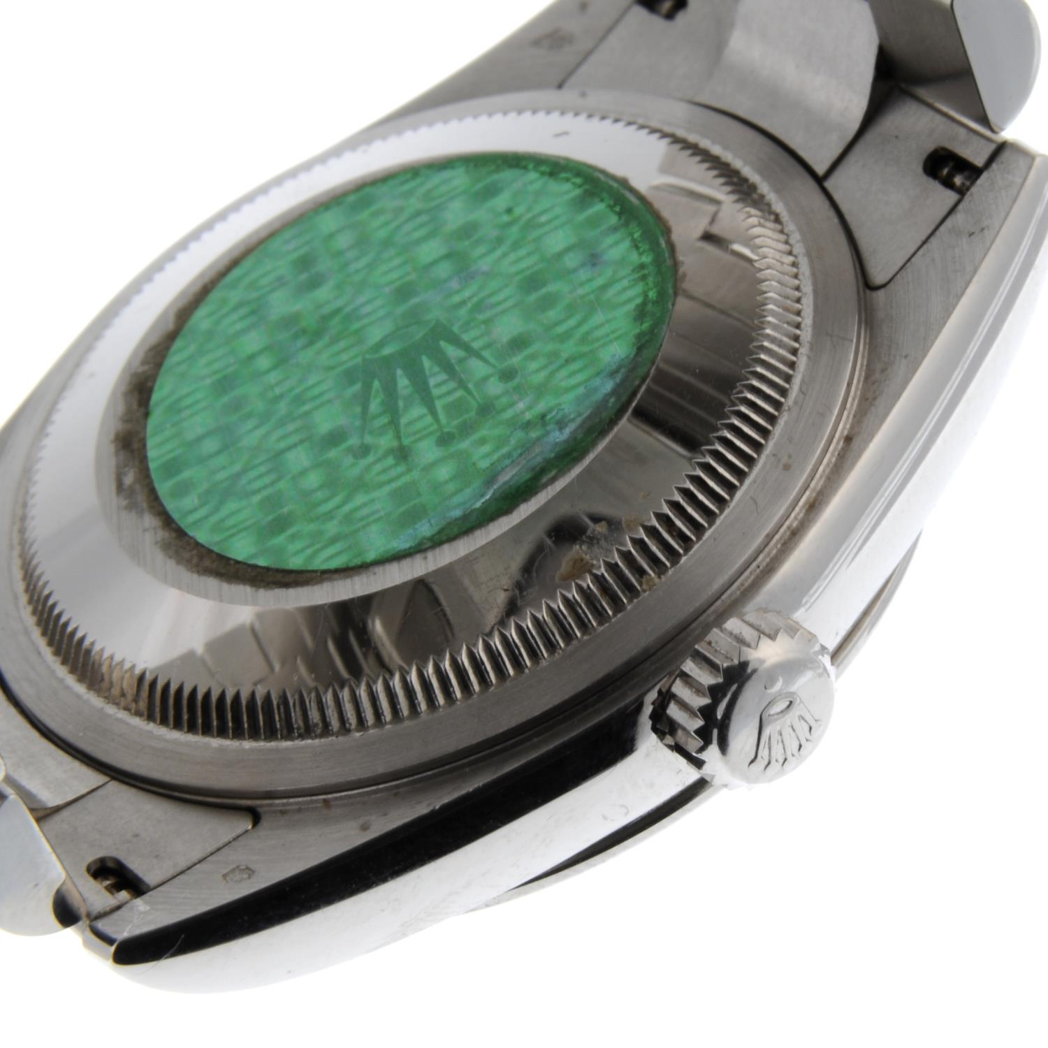 ROLEX - an Oyster Perpetual Day-Date bracelet watch. - Image 2 of 5