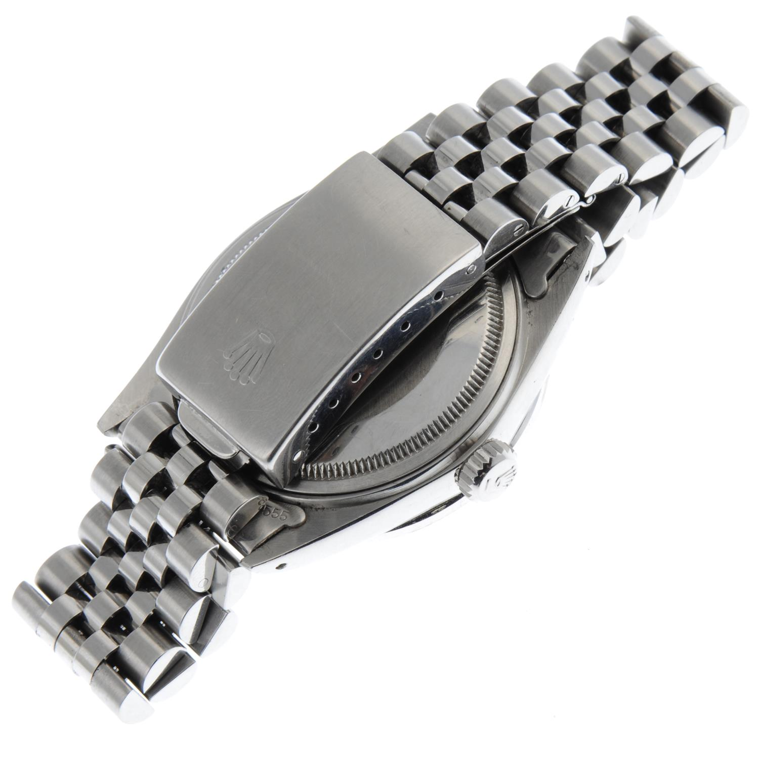 ROLEX - an Oyster Perpetual Datejust bracelet watch. - Image 5 of 5