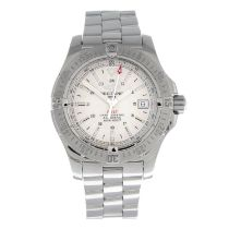 BREITLING - a Colt bracelet watch.Stainless steel case with calibrated bezel.