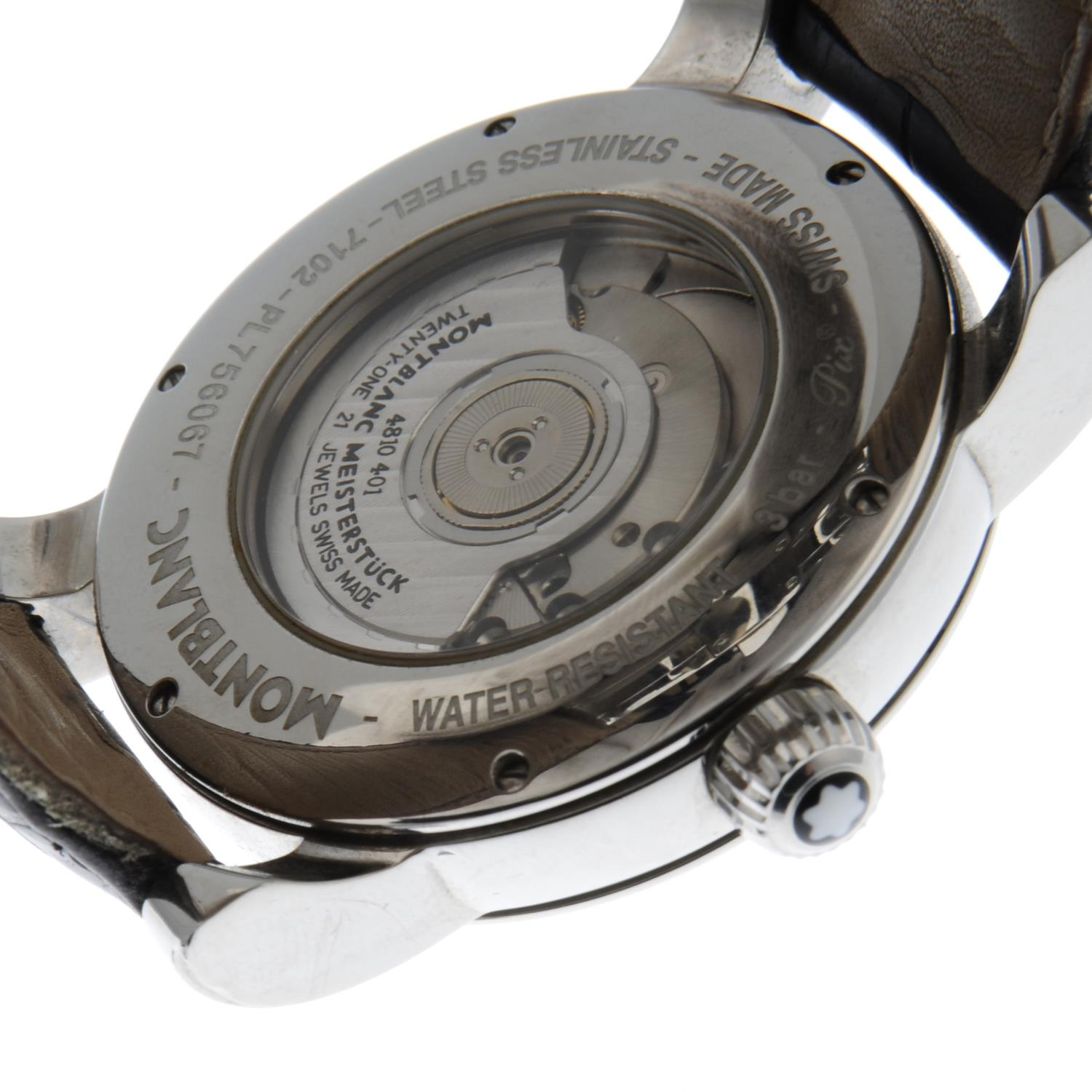 MONTBLANC - a Star wrist watch. - Image 2 of 5