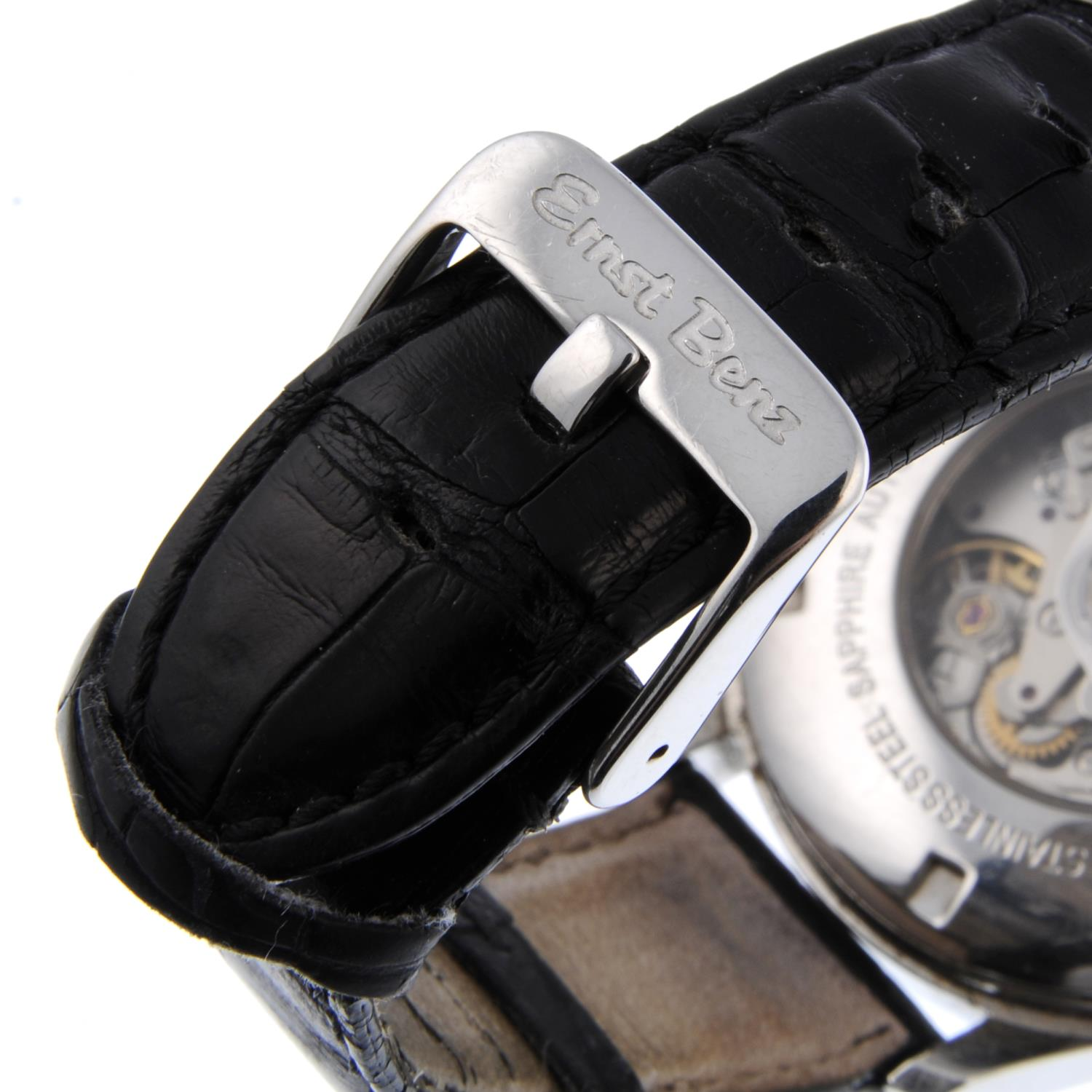 ERNST BENZ - a Chronolunar chronograph wrist watch.Stainless steel case with exhibition caseback. - Image 2 of 4
