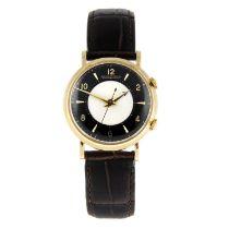 JAEGER-LECOULTRE - a Memovox wrist watch.