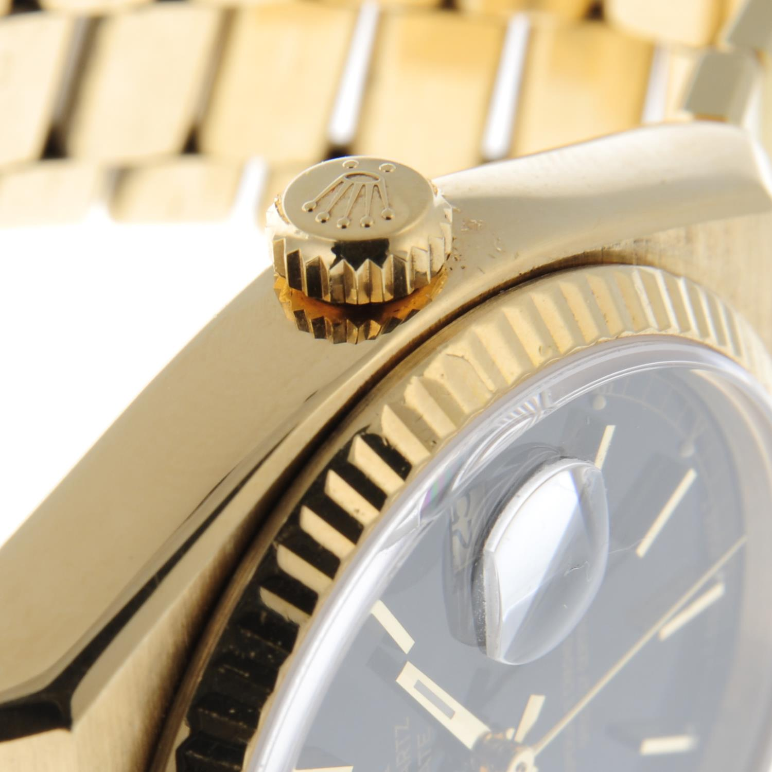 ROLEX - an Oysterquartz Day-Date bracelet watch. - Image 5 of 5