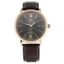 IWC - a Portofino wrist watch.