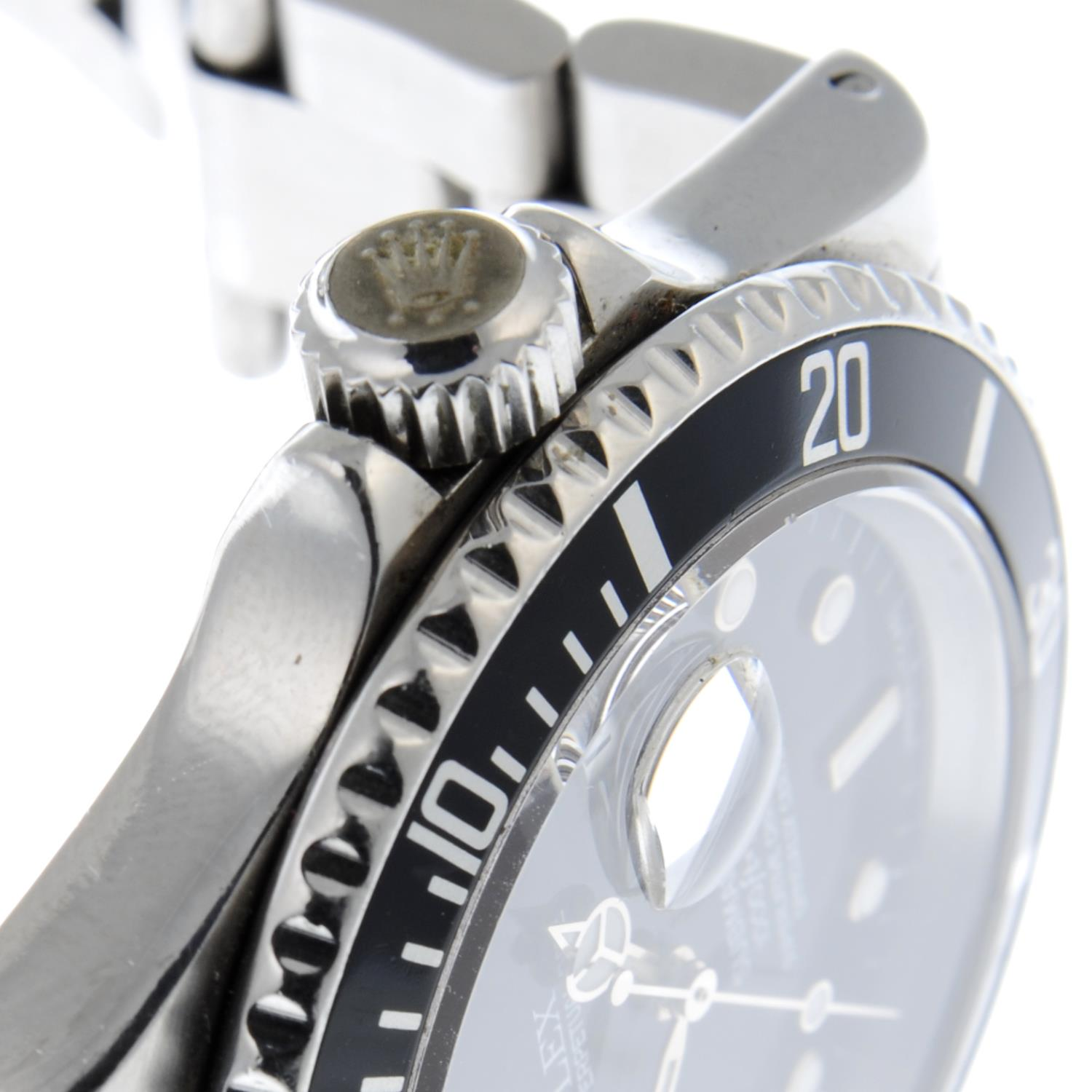 ROLEX - an Oyster Perpetual Date Submariner bracelet watch. - Image 5 of 5