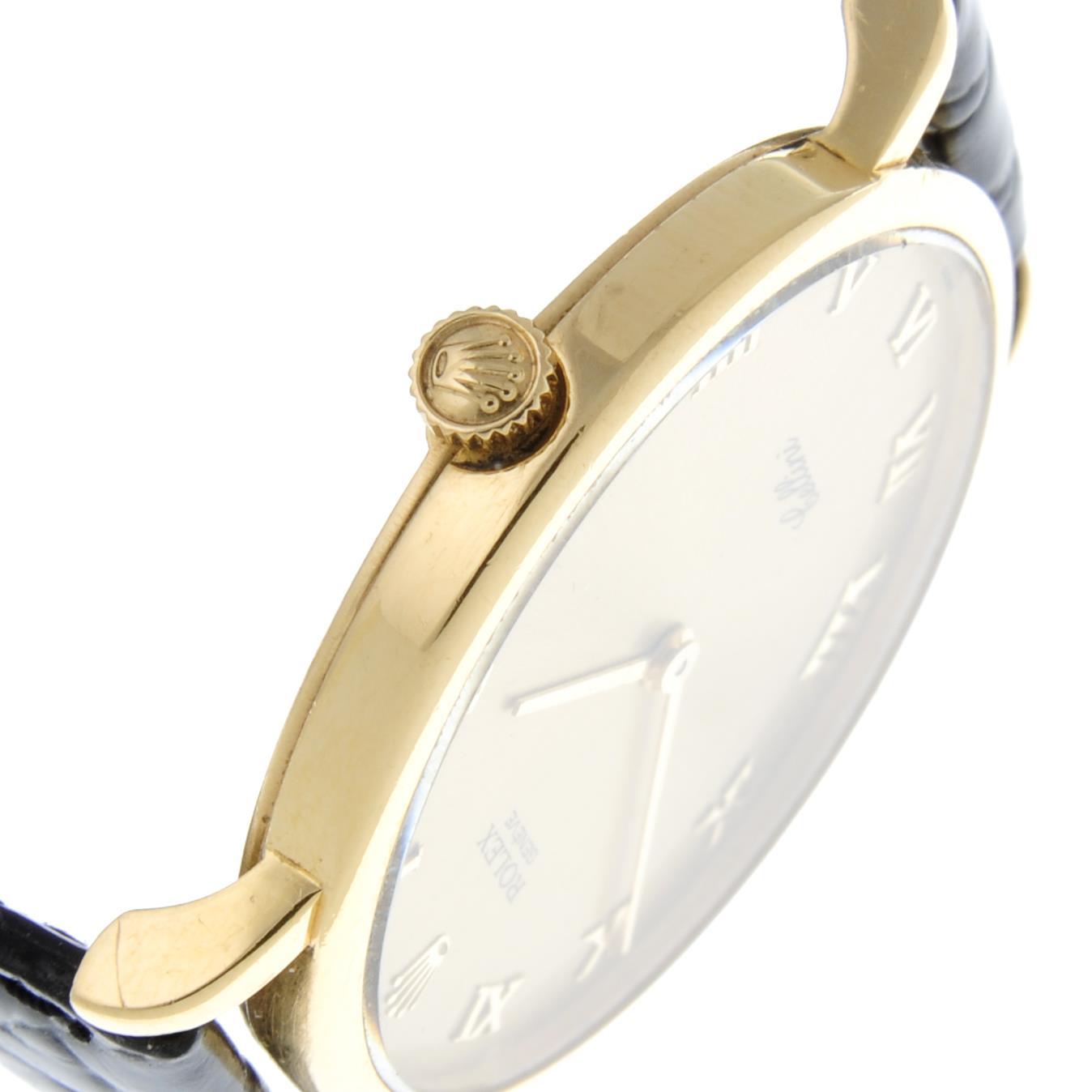 ROLEX - a Cellini wrist watch. - Image 4 of 5