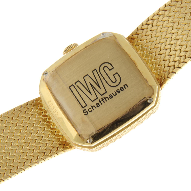 IWC - a bracelet watch. - Image 5 of 5