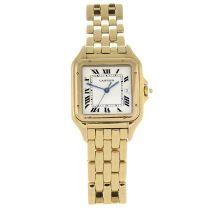 CARTIER - a Pathere bracelet watch.