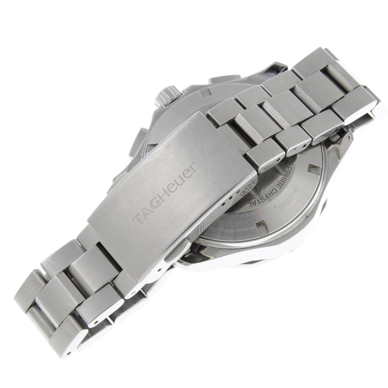 TAG HEUER - an Aquaracerchronograph bracelet watch. - Image 2 of 5