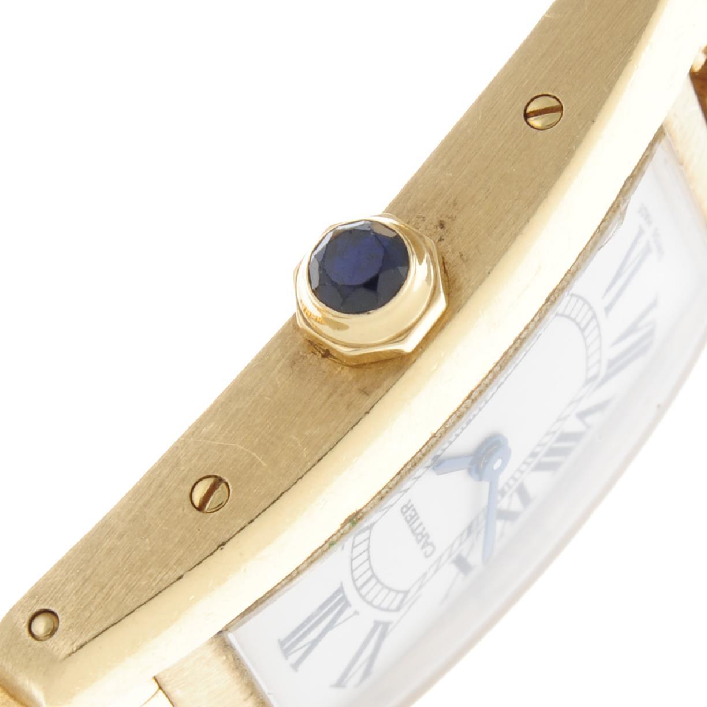 CARTIER - a Tank Americaine bracelet watch. - Image 4 of 5