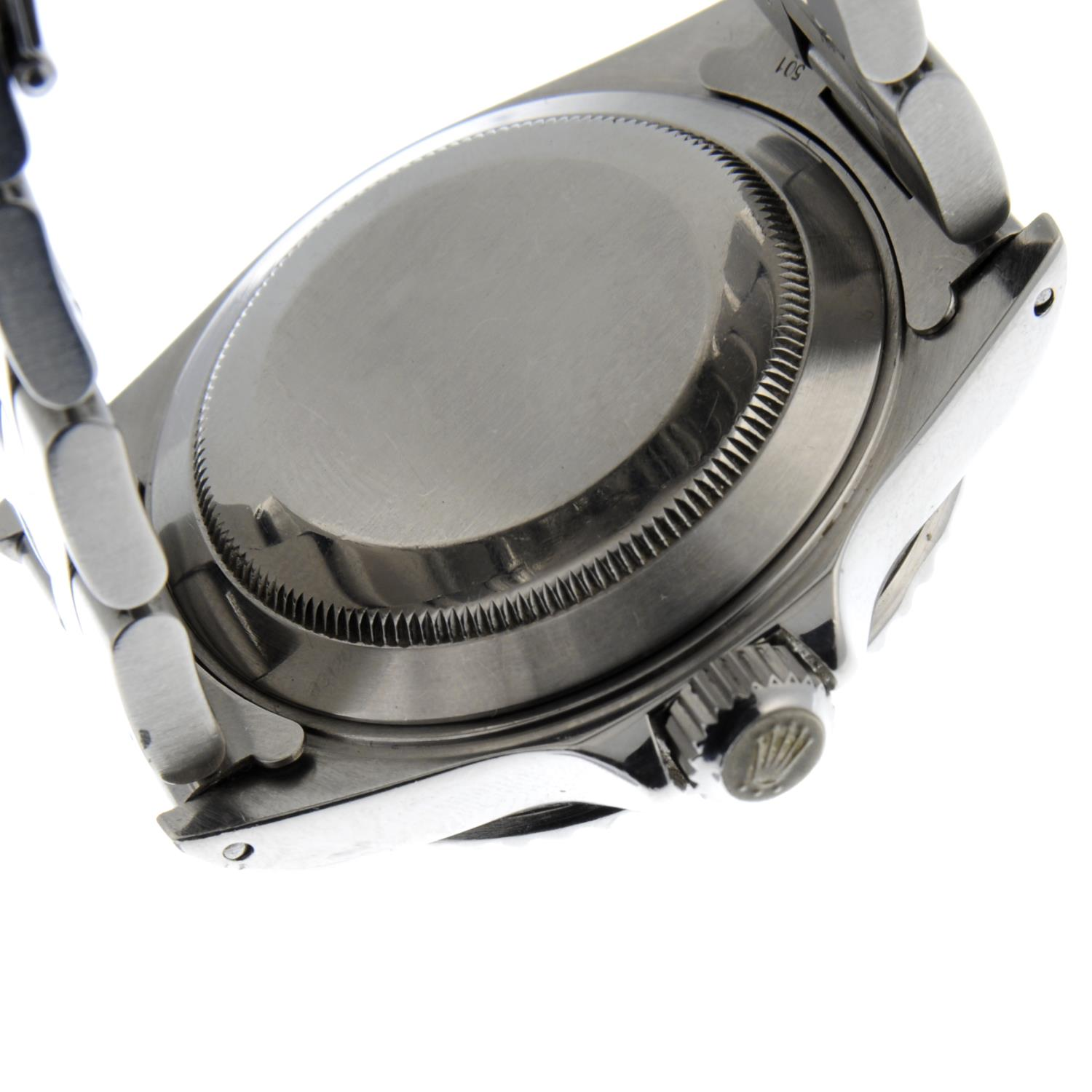 ROLEX - an Oyster Perpetual Date Submariner bracelet watch. - Image 2 of 5