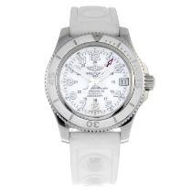 BREITLING - a SuperoceanII 36 wrist watch.