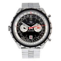 BREITLING - a Navitimer Chrono-Matic chronograph bracelet watch.