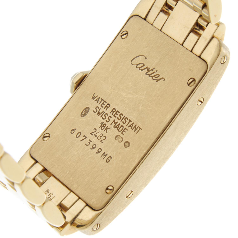 CARTIER - a Tank Americaine bracelet watch. - Image 5 of 5