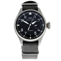IWC - a Big Pilot 7 Day wrist watch.