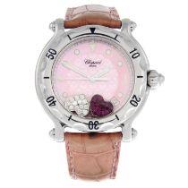 CHOPARD - a Happy Sport wrist watch.