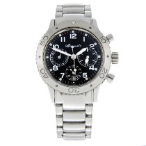 BREGUET - a Type XX chronographbracelet watch.