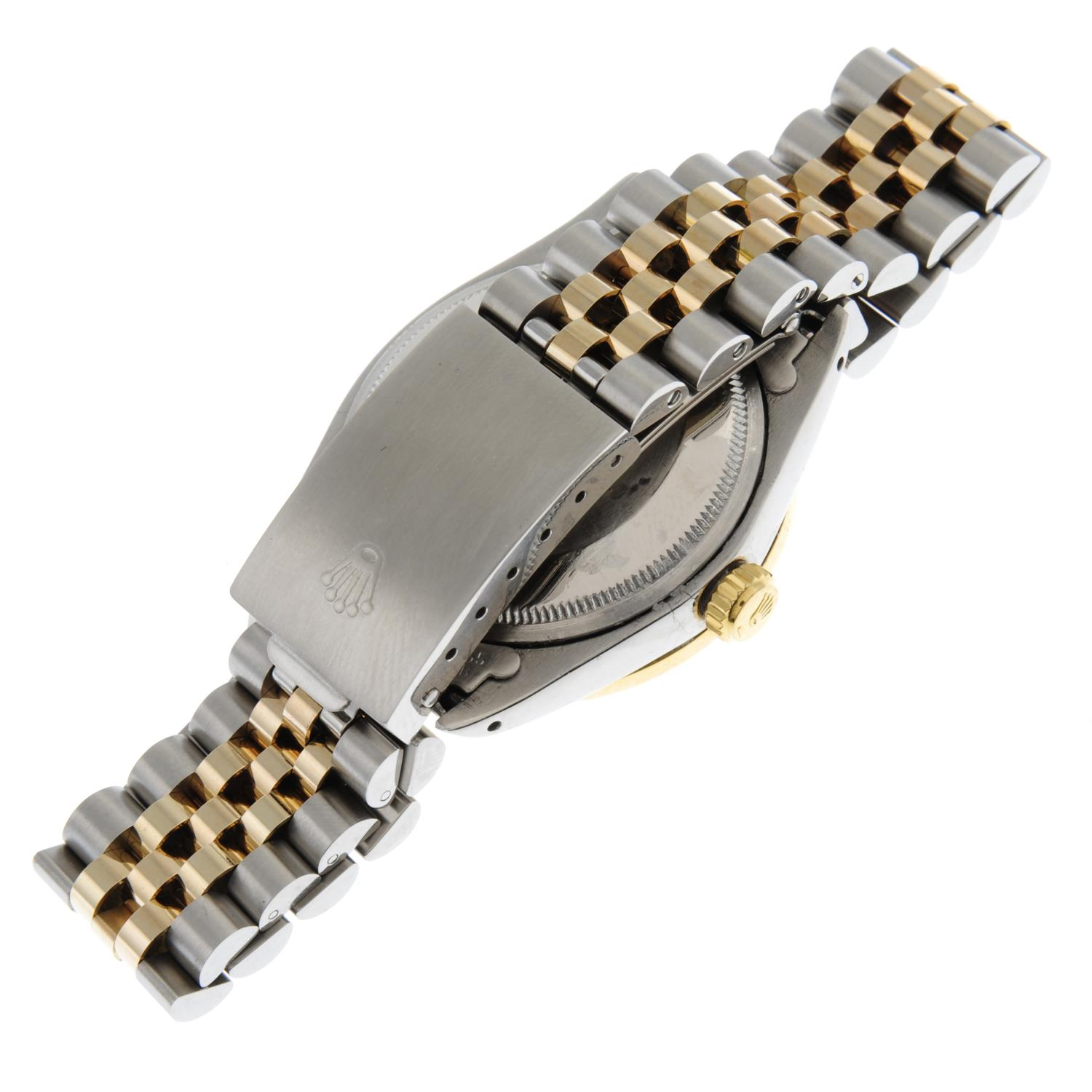 ROLEX - an Oyster Perpetual Date bracelet watch. - Image 4 of 5