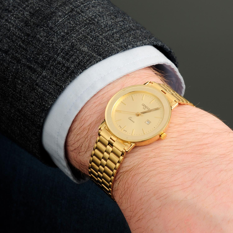 GENEVE - a bracelet watch. - Image 3 of 5