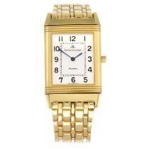 JAEGER-LECOULTRE - a Reverso bracelet watch.