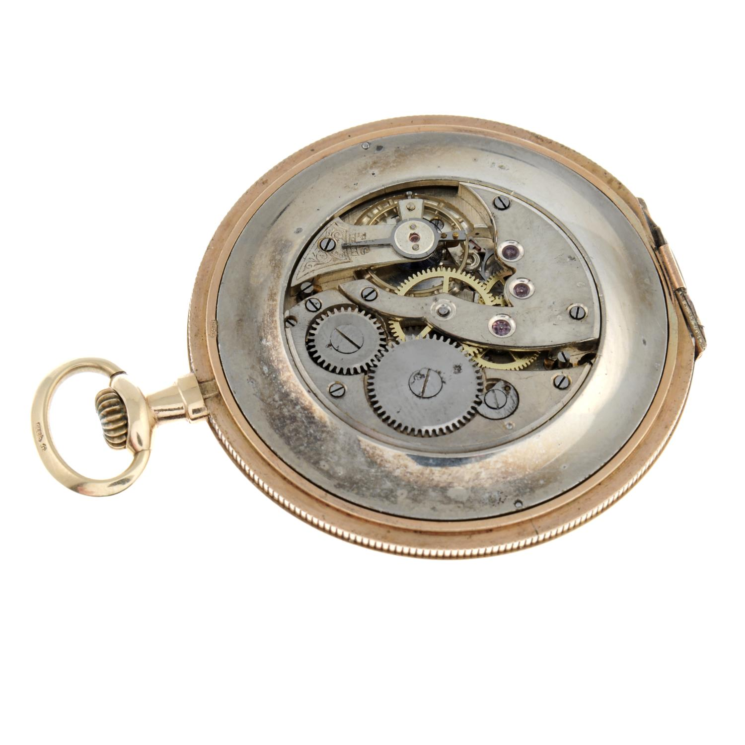 An open face pocket watch. - Image 3 of 4