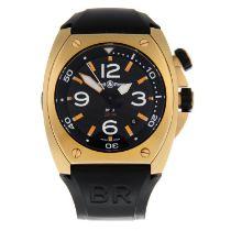 BELL & ROSS - a BR02 wristwatch.